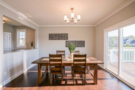 Oak Manor Custom Home Interior