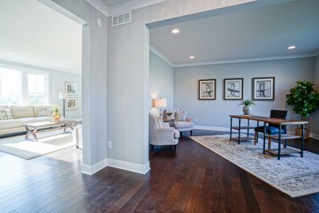Oak Manor Custom Designed Home Interior