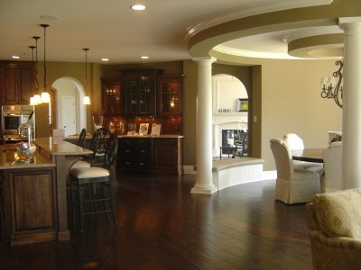 glen oaks custom home interior